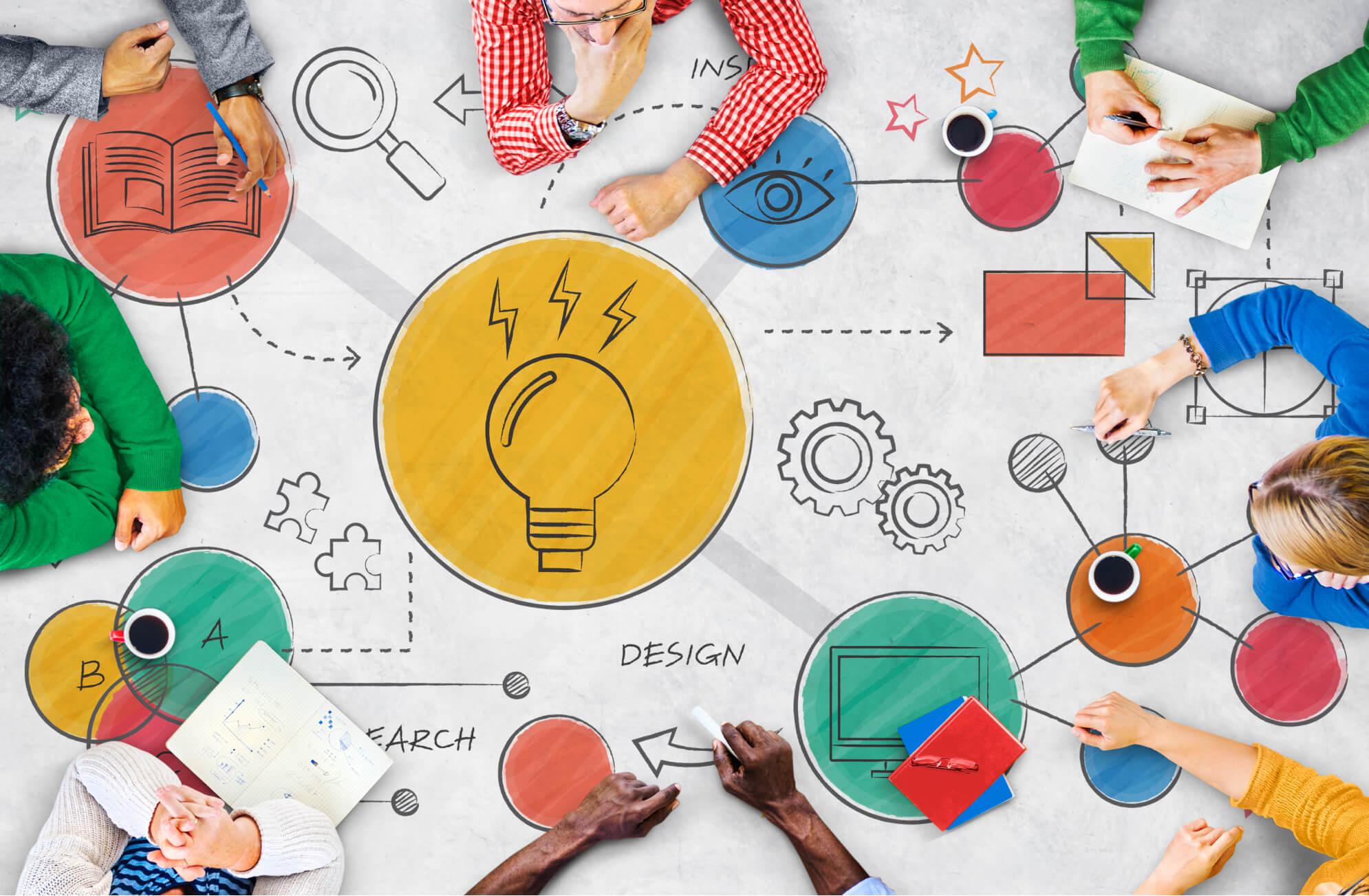 mesa de ideas